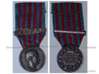 Italy Italo-Turkish War 1911 1912 Silver Commemorative Medal with 1911-12 Clasp by Giorgi & the Italian Royal Mint