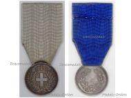 Italy Kingdom of Sardinia Al Valore Militare Silver Medal Military Valor 1st Type 1833 by FG