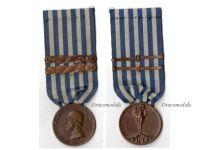 Italian WW1 Medal Decoration Unification Italy Merchant Navy 1914 1918 bars 1915 1916 Johnson Great War