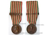 Italy WWI Italian Unification Commemorative Medal for the War of 1915 1918 with clasp 1916 by Nelli Inc