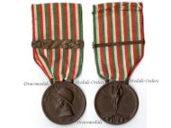 Italian WW1 Unification Military Medal Decoration Unity Italy 1915 1918 bar 1917 Great War Award Maker Sacchini