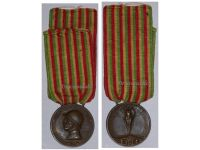 Italy WWI Italian Unification Commemorative Medal for the War of 1915 1918 by Lorioli Castelli