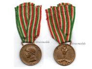 Italian WW1 Unification Military Medal Decoration Unity Italy 1915 1918 Service Great War Award NELLI INC