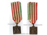 Italy WW1 Artillery Royal Italian Army Military Patriotic Medal Kingdom Decoration Great War WWI 1914 1917