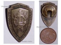 Italy WW1 Association Wounded Aid Patriotic pin Italian Military Medal Badge Decoration Great War 1914 1918 Maker SIM Rome