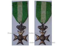 Italy WW1 Cross Crown Military Long Service 40 XVI years 1914 1918 Italian Medal Decoration King Vittorio Emmanuele Silver 800