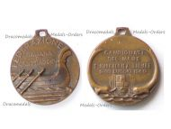Italy Italian Rowing Federation Commemorative Medal for the Water Sports Championship 1960