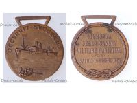 Italy Commemorative Medal Convention Military Maritime Medicine Naples 1957