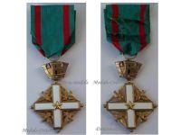 Italy Order Merit Italian Republic Knight's Cross Military Civil Medal 1951 Award Decoration
