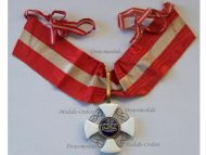 Italy WWI Order of the Italian Crown Commander's Cross King Vittorio Emanuele III