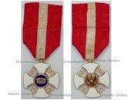 Italy WWI Order of the Italian Crown Knight's Cross King Vittorio Emanuele III