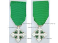 Italy WWII Order Saint St Maurice & Lazarus Knight's Cross