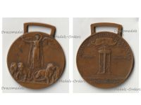 Italy WWI Victory Interallied Medal Maker Johnson Laslo Official Type 2