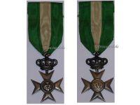 Italy WW1 Cross Crown Military Long Service 40 XVI years 1914 1918 Italian Medal Decoration King Vittorio Emmanuele