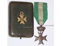 Italy WW1 Cross Crown Military Long Service 40 XVI years 1914 1918 Italian Medal Decoration King Vittorio Emmanuele Boxed