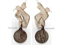 Italy WW1 St Barbara 1st Artillery Reg. Taurinense 5th Battery 1915 Military Medal Italian Decoration Great War