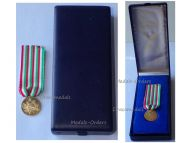 Italy WW1 Gold 18k Military Medal 50th Anniversary Victory Great War 1918 1968 Italian Decoration WWI 1914 Boxed
