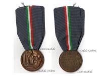 Italy WW1 Mothers Fallen KIA Military Medal Italian Decoration WWI 1914 1918 Great War Vittorio Emanuele Maker Sacchini