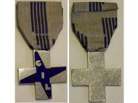 Italy WW2 Fascist Youth GIL Cross Blue Military Medal Italian Kingdom Decoration Fascism Mussolini WWII Award