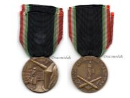 Italy WW2 MVSN Maritime Artillery Military Medal Militia Blackshirts Italian Fascism WWII 1940 1945 Award