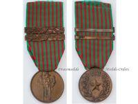 Italy WW2 Commemorative Military Medal 1940 1943 2 bars Italian Republic WWII Decoration Fascism Mussolini