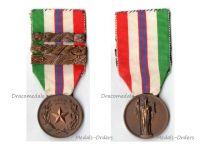 Italy WW2 Commemorative Military Medal 3 bars 1943 1945 1944 War Liberation Italian Decoration Anti Fascism Mussolini