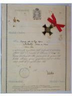 Italy Albania Cross 11th Army Military Medal War Greece 1940 1941 Mussolini Italian Diploma NCO Alpine Reg.