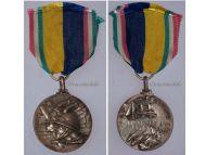 Italy WW2 Africa Italian Ethiopia Propaganda Military Medal 1935 1936 Italian Decoration Fascism Mussolini