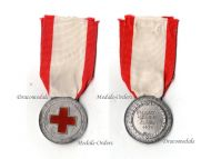 Italy WW2 Red Cross Nurses School Military Medal Italo-Ethiopian War 1936 Italian Decoration Fascism Mussolin Named