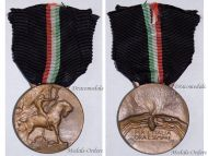 Italy Now Ever WW1 Military Medal Fascist Campaign 1919 1922 WW2 Mussolini Italian Kingdom