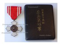 Japan WWI Gold Cross of the Order Merit of the Japanese Red Cross Society Boxed