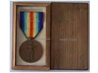 Japan WW1 Victory Interallied Military Medal WWI 1914 1918 Imperial Japanese Decoration Award Great War Boxed