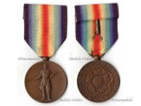 Japan WW1 Victory Interallied Military Medal WWI 1914 1918 Imperial Japanese Decoration Award Great War