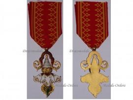 Laos Order Million Elephants White Parasol Knight Military Medal Laotian Decoration Award Interwar