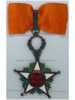 Morocco WWI Royal Order of Ouissam Alaouite Commander's Star 2nd Type