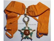 Morocco WW1 Royal Order Ouissam Alaouite Commander Decoration Military Medal 1914 1918 Great War