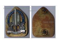 Netherlands City Police Badge 1948 Maastricht Dutch Holland