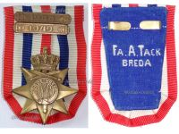 Netherlands WWII Cross for the Order and Peace 1945 with 2 Bars 1948 1949