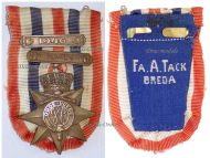 Netherlands WWII Cross for the Order and Peace with 2 Bars 1945 1946