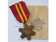 Netherlands WW2 East Asia Resistance Star Military Medal 1942 1945 Decoration Envelope Issue by Kon. Begeer