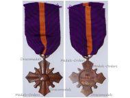 Netherlands WWII Mobilization Cross 1939 1945