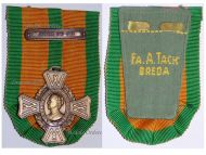 Netherlands WW2 Commemorative Cross Military Medal Clasp Java Sea Battle 1941 1942 Decoration