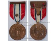 Norway WWII Narvik Participation Medal 1940 1945 with Rosette by J. Tostrup