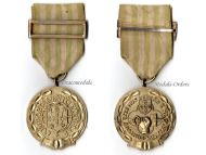Portugal Exemplary Conduct Military Medal Gold I Class Portuguese Republic Decoration 1949 1971 Antonio Salazar