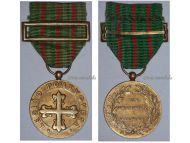 Portugal WW2 Portuguese Legion Gold class Military Medal Good Conduct Diligence 1936 Fascism Salazar