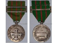 Portugal WW2 Portuguese Legion Silver class Military Medal Good Conduct Diligence 1936 Fascism Salazar