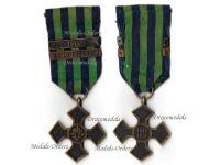 Romania WW1 Commemorative War Cross bar Bucharest 1919 Military Medal Romanian 1916 1918 Great War