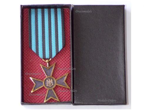 Romania WWII Commemorative Cross Boxed