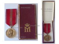 Romania WWII Eastern Front Medal for the Crusade Against Communism 1941 Boxed by the National Mint Rare Unmarked Type
