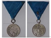 Serbia Zeal Zealous Service Military Medal Silver Balkan Wars 1912 1913 WW1 1914 1918 Serbian Decoration